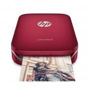 HP Sprocket Photo Printer Red