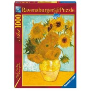 Van Gogh Vaza Cu Flori, 1000 Piese