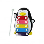 HATCHMATIC TS Baby Child Kid 5-Note Musical Toys Wisdom Development Penguin A8252: B