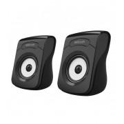 Astrum ST110 fekete 2.0 csatornás bluetooth V2.1/3,5MM jack + EDR sztereó hangszóró 2 X 3W USB-s áramellátással