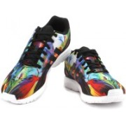 ADIDAS ORIGINALS ZX FLUX Men Sneakers For Men(Black, Multicolor)