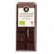 Bio Berta bio 72%-os tejcsokoládé szelet - 40g