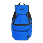Confetti Expandable Cooler Backpack - Blue