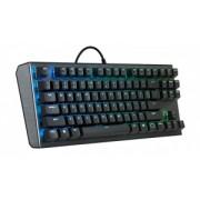 Tastatura Cu Fir Cooler Master MASTERKEYS CK 530 Gateron MX Brown, Iluminata, Led Albastru-Verde, Neagra
