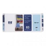 HP C4964A N83 INK CIANOCHIARO+PULIZIA UV