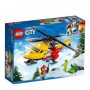 LEGO City Great Vehicles Elicopterul ambulanta 60179 pentru 5-12 ani