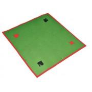 Tapete cartas 80x80cm poker