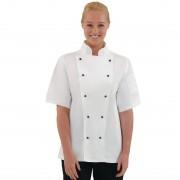 Whites Chefs Clothing Whites Chicago unisex koksbuis korte mouw wit XS - XS