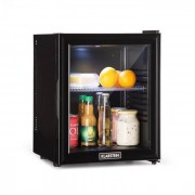 Brooklyn 24L kylskåp A LED hylla i plast glasdörr svart