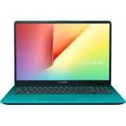 Laptop Asus VivoBook S530UA Intel Core Kaby Lake R (8th Gen) i5-8250U 256GB 8GB Endless FullHD Verde Bonus Geanta Laptop Natec Impala