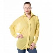 COLOUR LAB Maxi camicia made in Italy in cotone