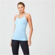 Myprotein Camiseta de Tirantes sin costuras Shape - S - Light Blue Marl