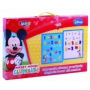 Set tabla si numere magnetice Disney Mickey Mouse 35 piese