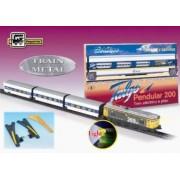 Trenulet electric calatori Talgo Pendular 200 cu macaz