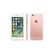 """iPhone 6s Apple com 64GB e Tela 4,7"""" HD com 3D Touch, iOS 9, Câmera iSight 12MP - Ouro Ros"""