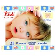 Trudi Dětské pleny Dry Fit s vrstvou Perfo-Soft mini 3-6 kg 21 ks