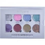 Bellápierre Cosmetics Make-up Ojos 8 Color Pro Glitter Eye Palette 1 Stk.