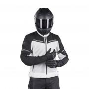 REVIT! Giacca Moto Rev'it Airwave 3 Argento-Nero