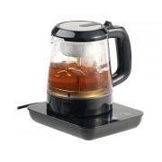 2in1-Teebereiter & Wasserkocher mit Temperaturwahl, 1 Liter, 800 Watt | Wasserkocher