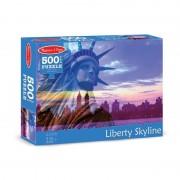 Puzzle Statuia Libertatii, 500 piese