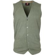 Suitable Gilet Baumwolle Grün - Grün XL