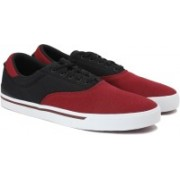 ADIDAS NEO PARK ST CLASSIC Sneakers For Men(Black, Maroon)