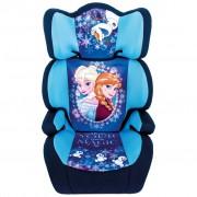 Disney Bilbarnstol Frozen 2+3 svart och blå AUTO234002