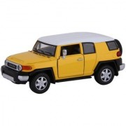Jain Gift Gallery 5 136 Scale Toyota FJ Cruiser Die-Cast Model Car from Flying Toyszer (Multicolor)