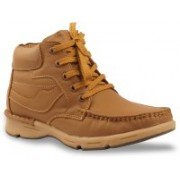 Bacca Bucci Men Tawyer Evo Leather Casual Boots For Men(Tan)