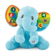Tanulj velem elefánt bébijáték - 24 cm