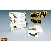 Invitatie pentru botez Kung Fu Panda