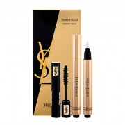Yves Saint Laurent Touche Éclat tonalità No.1 confezione regalo correttore illuminante Touche Éclat 2,5 ml + mascara Volume Effet Faux Cils 2 ml Black