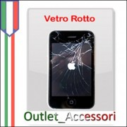 Sostituzione Riparazione Assistenza Vetro Touchscreen per Apple Iphone 3G 3GS