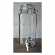 Borcan cu robinet si capac - 2 litri