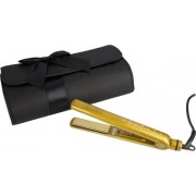 Hair Goddess Limited Edition Gold Diamond Styler + edle Reisetasche Glätteisen