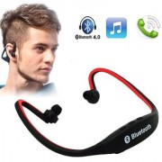 doitshop Wireless Bluetooth Headset BS19C/Headphone Sports Bluetooth Headset (with Micro Sd Card Slot )