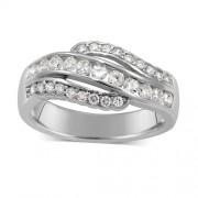 Silvego Elegantní stříbrný prsten FLARE - JJJR0154