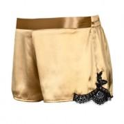 Aubade Jubiläums-Top, -Panty oder Kimono, 36 - Gold/Schwarz - Panty
