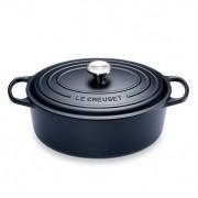 Cocotte fonte ovale 31 cm noir Le Creuset