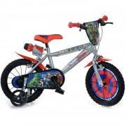 Dino Bikes Bicicleta Infantil 14 Pulgadas Marvel Avengers