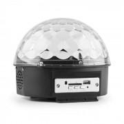 Magic Jelly DJ Ball leitor MP3 LED RGB Efeitos de luz Controlo de música USB SD