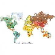 Janod Magneti'Stick Wall Dcor World Map