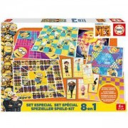 Комплект детски занимателни игри 8 в 1 DESPICABLE ME 3 Educa, 8412668172609