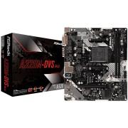MB, ASRock A320M-DVS-R4.0 /AMD А320/ DDR4/ AM4