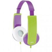 JVC Dětské sluchátka On Ear JVC HA-KD5-V-E HA-KD5-V-E, fialová, zelená