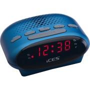 ICES Wekkerradio FM Blauw (ICR-210 BLUE)