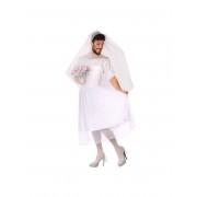 Vegaoo Skämtsam brudklänning man M / L (40 - 42)