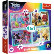 PUZZLE TREFL 4IN1 TROLI IN CONCERT