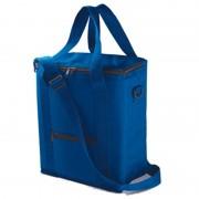 Kimood Hoge koeltas blauw voor flessen 30 x 36 cm 18 liter