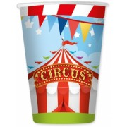 Pahare 200 ml Circus Party 8 buc/set Big Party